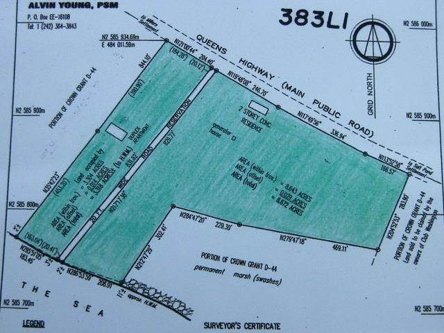 7. Land for Sale at McKanns, Long Island, Bahamas