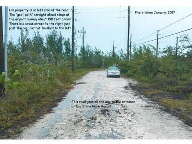3. Terreno por un Venta en Airport Lot Stella Maris, Long Island, Bahamas