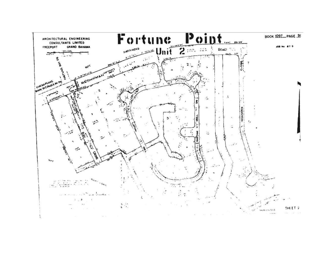 Land for Sale at Fortune Point, Freeport And Grand Bahama, Bahamas