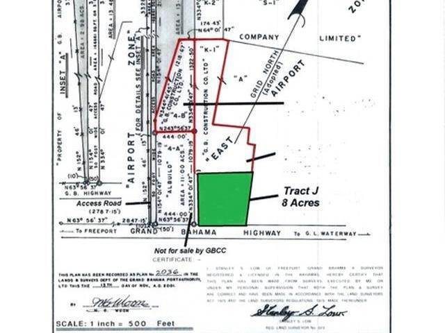 Land for Sale at Civic Industrial Area, Freeport And Grand Bahama, Bahamas
