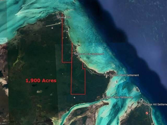 Land for Sale at Mangrove Cay, Andros, Bahamas