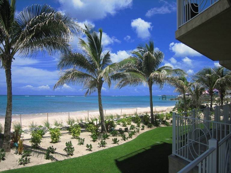 Co-op / Condo for Sale at Large ground floor beachfront condo in exclusive gated area close to Cable Beach Love Beach, Nassau And Paradise Island, Bahamas