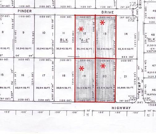Terreno por un Venta en Sunset Highway Commercial Lots Caravel Beach, Gran Bahama Freeport, Bahamas