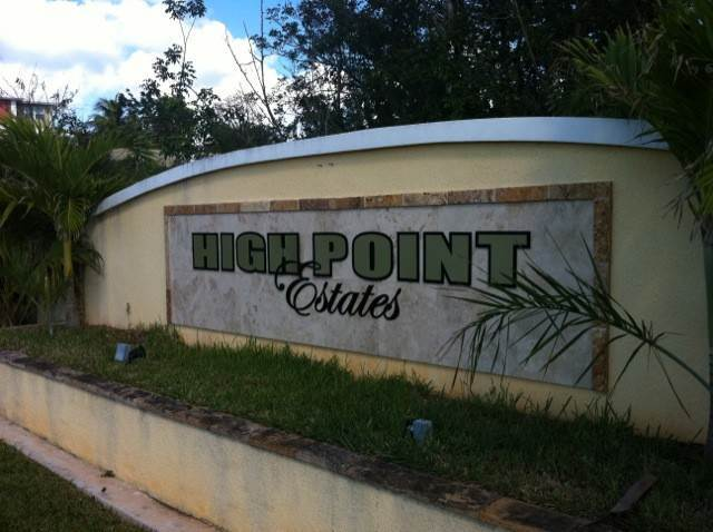 Land for Sale at Residential lot in the gated community of High Point High Point Estates, Nassau And Paradise Island, Bahamas