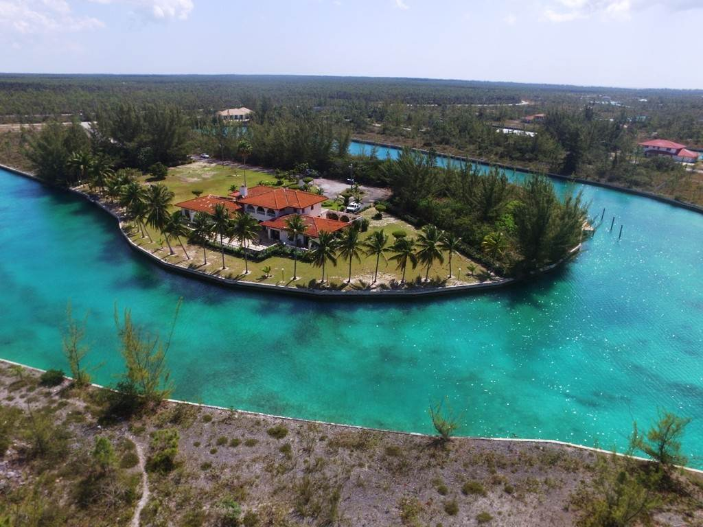 Single Family Homes for Sale at Waterfront Estate Home - Pine Bay, Lucaya - MLS 26880 Pine Bay, Freeport And Grand Bahama, Bahamas