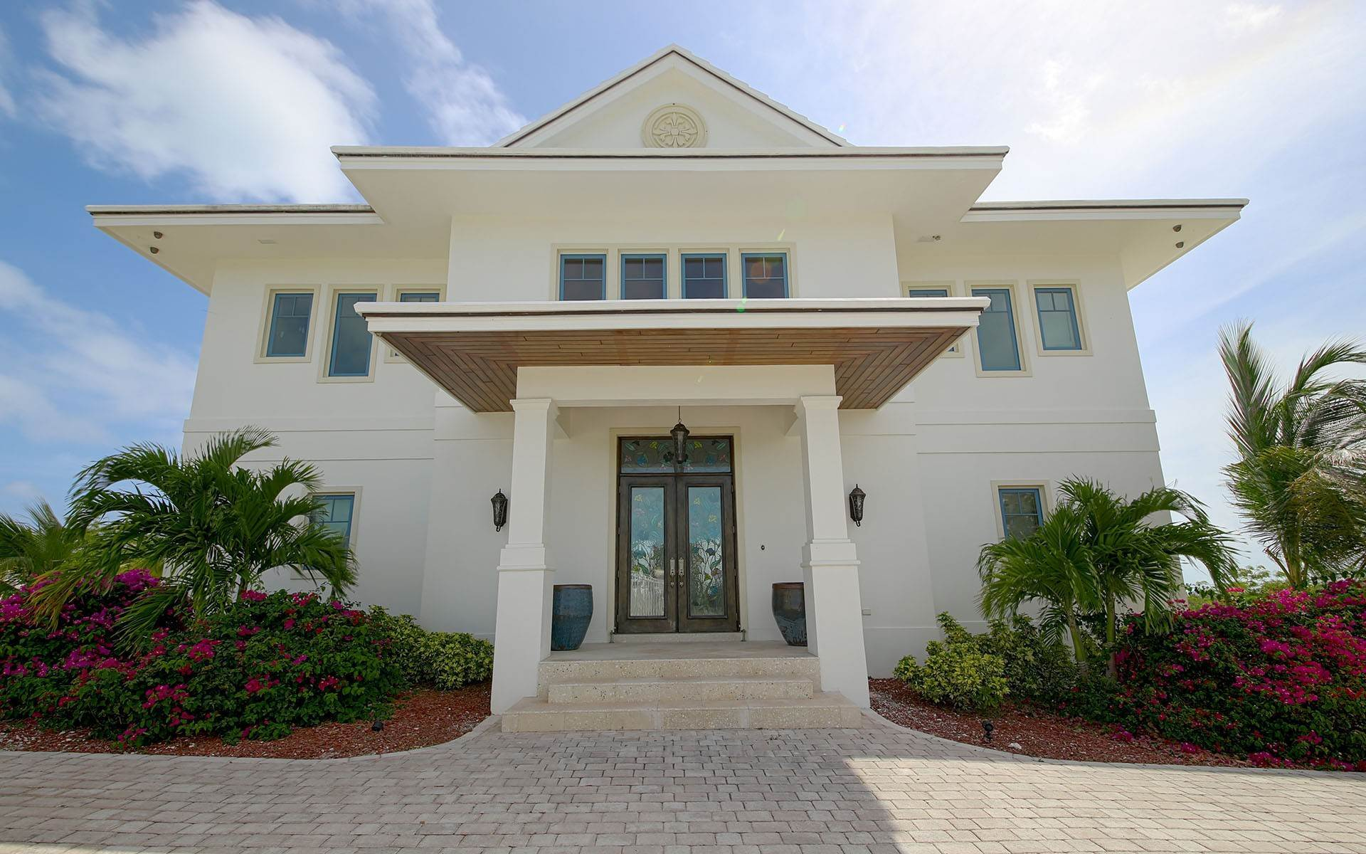 Single Family Homes for Sale at White Heather - Estate Home with Expansive Ocean Views - MLS 30053 Exuma, Bahamas