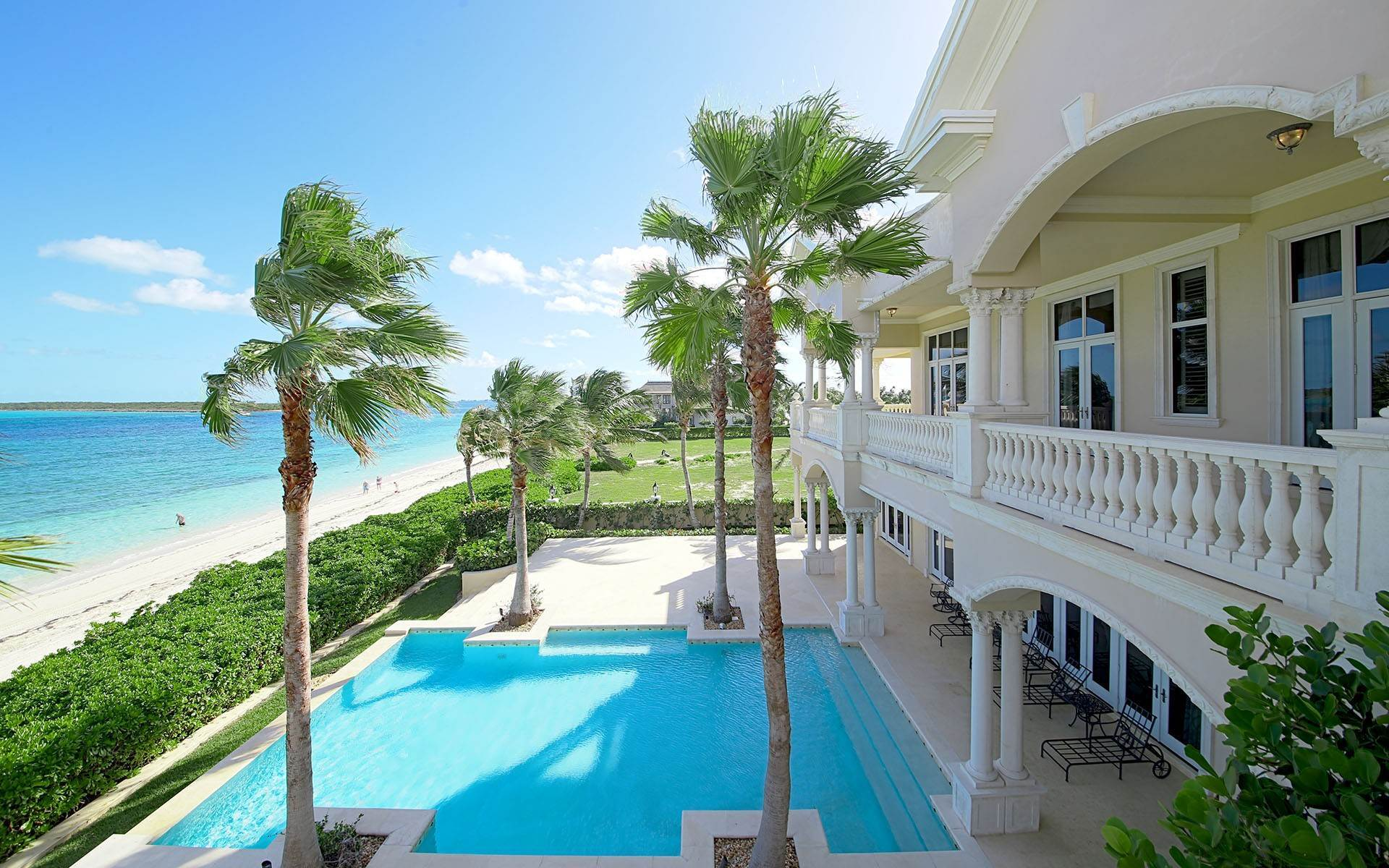 Single Family Homes for Sale at Beachfront Mansion in Ocean Club Estates, Paradise Island Ocean Club Estates, Paradise Island, Nassau And Paradise Island Bahamas