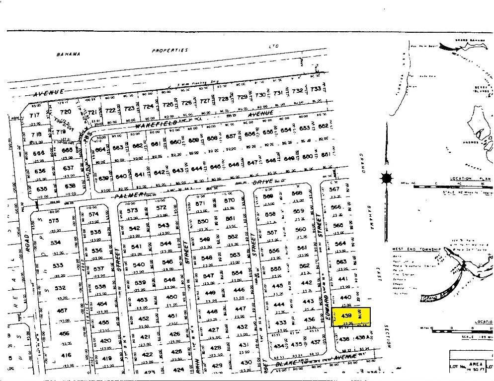 Terreno por un Venta en Section C Grand Bahama East Lot Grand Bahama East, Gran Bahama Freeport, Bahamas