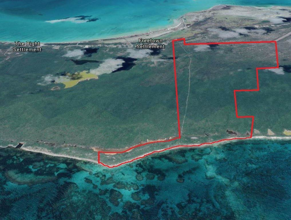 Terreno por un Venta en Spectacular views, Sparkling beach - MLS 39124 New Bight, Cat Island, Bahamas