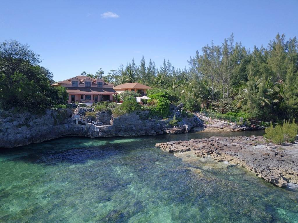 Single Family Homes for Sale at Fabulous Ocean Front Estate in Great Cistern MLS 35693 Marsh Harbour, Abaco, Bahamas