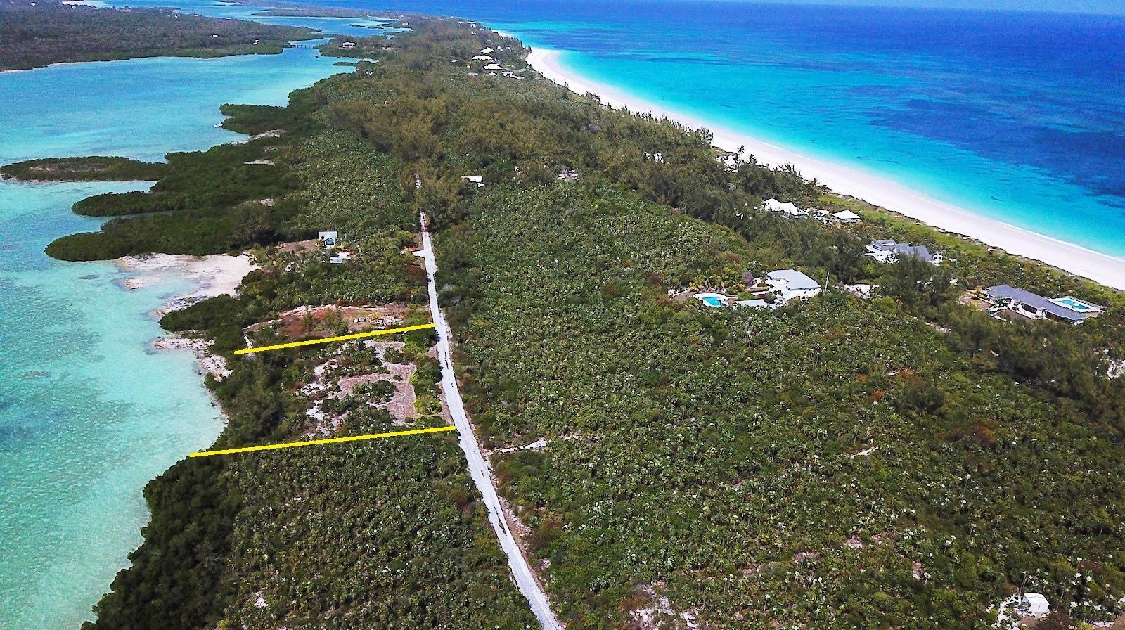 Terreno por un Venta en Fabulous Windermere - Savannah Sound Lots Sold together - MLS 42844 Windermere Island, Eleuthera, Bahamas