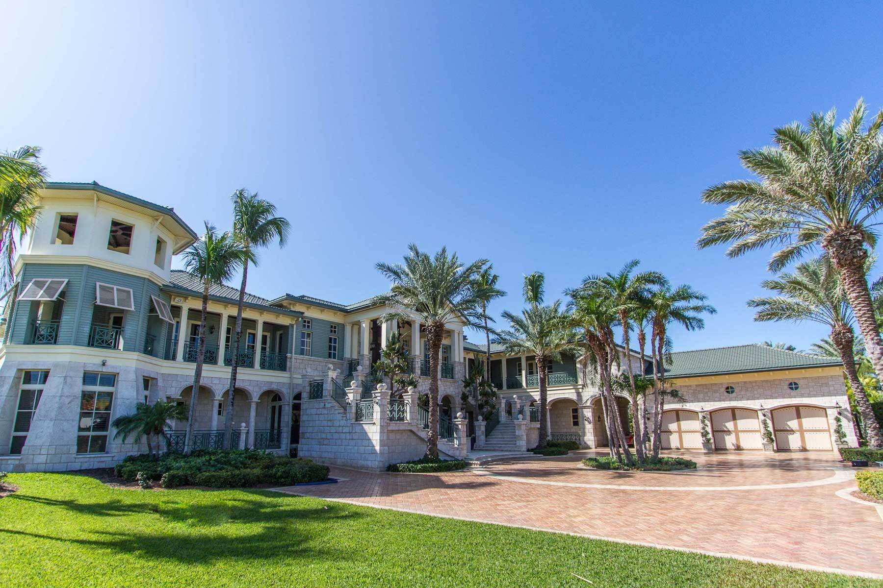 Single Family Homes for Sale at 'Sea Level' - A Grand Bayfront Estate. Ocean Club Estates, Nassau And Paradise Island, Bahamas