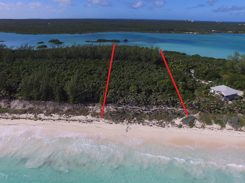 Terreno por un Venta en Sea-to-Sea Beachfront Lot on Windermere Island Windermere Island, Eleuthera, Bahamas