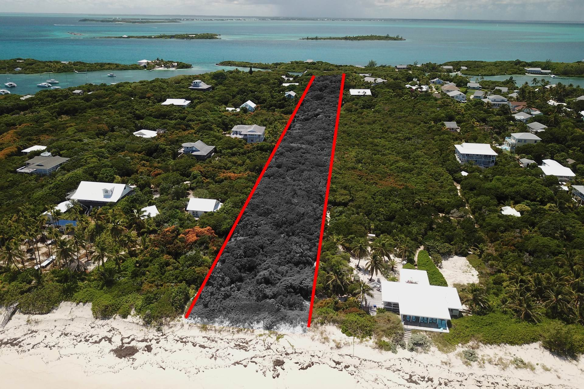 Land for Sale at Harbour Beach, Man O War Cay, Abaco Cays - MLS 39204 Man-O-War Cay, Abaco, Bahamas