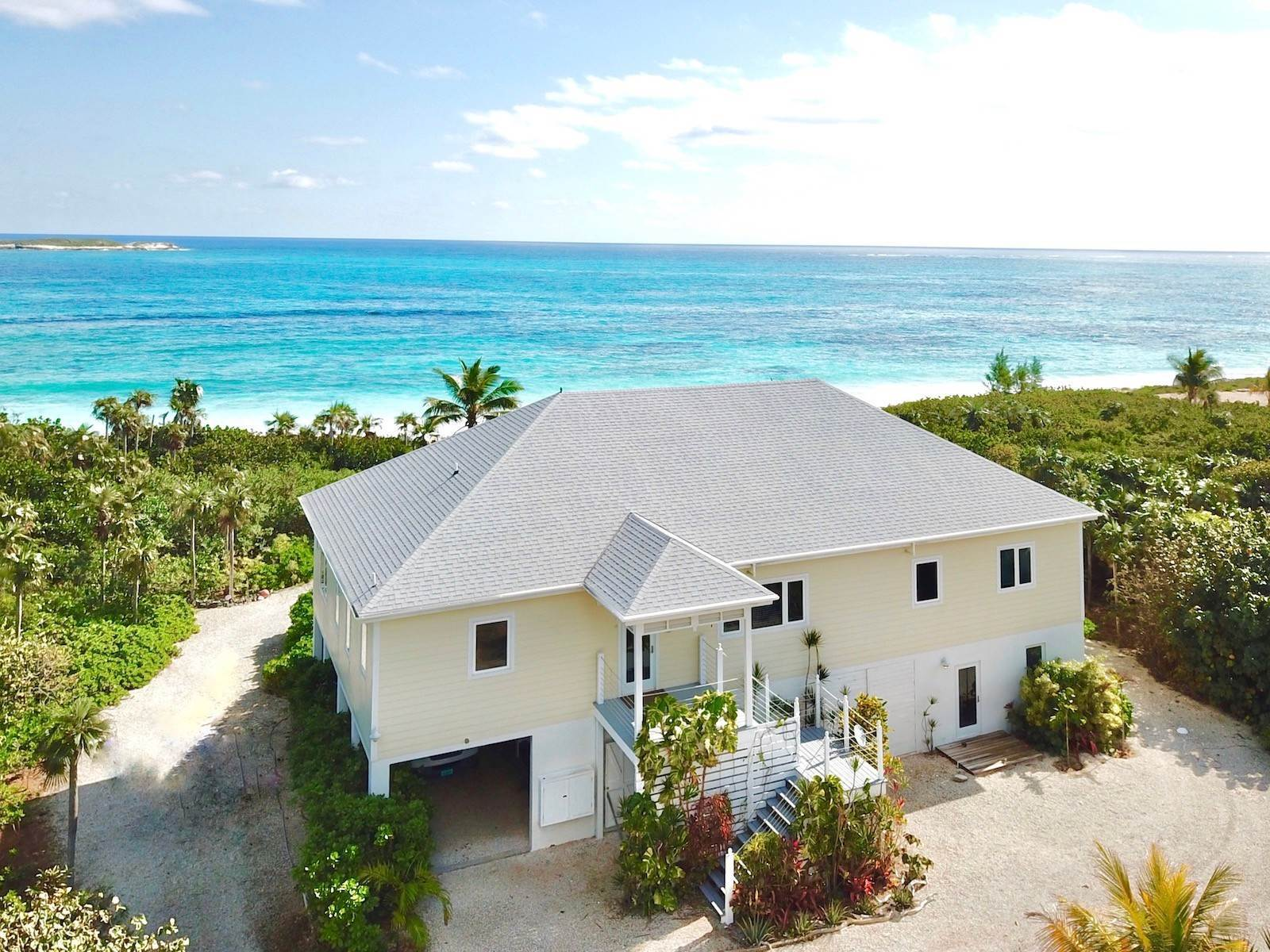 Single Family Homes for Sale at Blissful Beach House on Double Bay - MLS 41021 Double Bay, Eleuthera, Bahamas