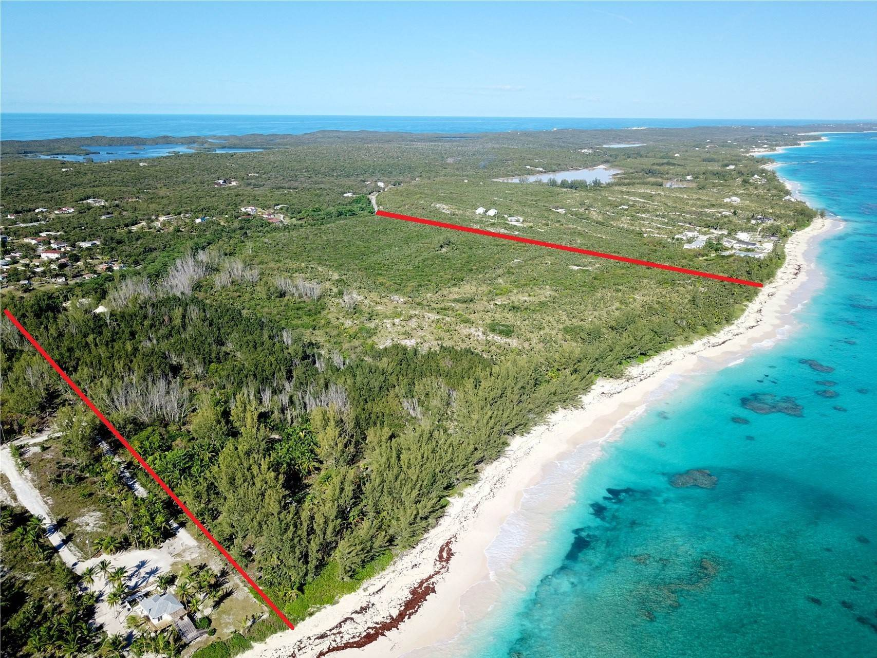 Terreno por un Venta en Banks Road Breathtaking Beachfront Acreage - MLS 40740 Palmetto Point, Eleuthera, Bahamas