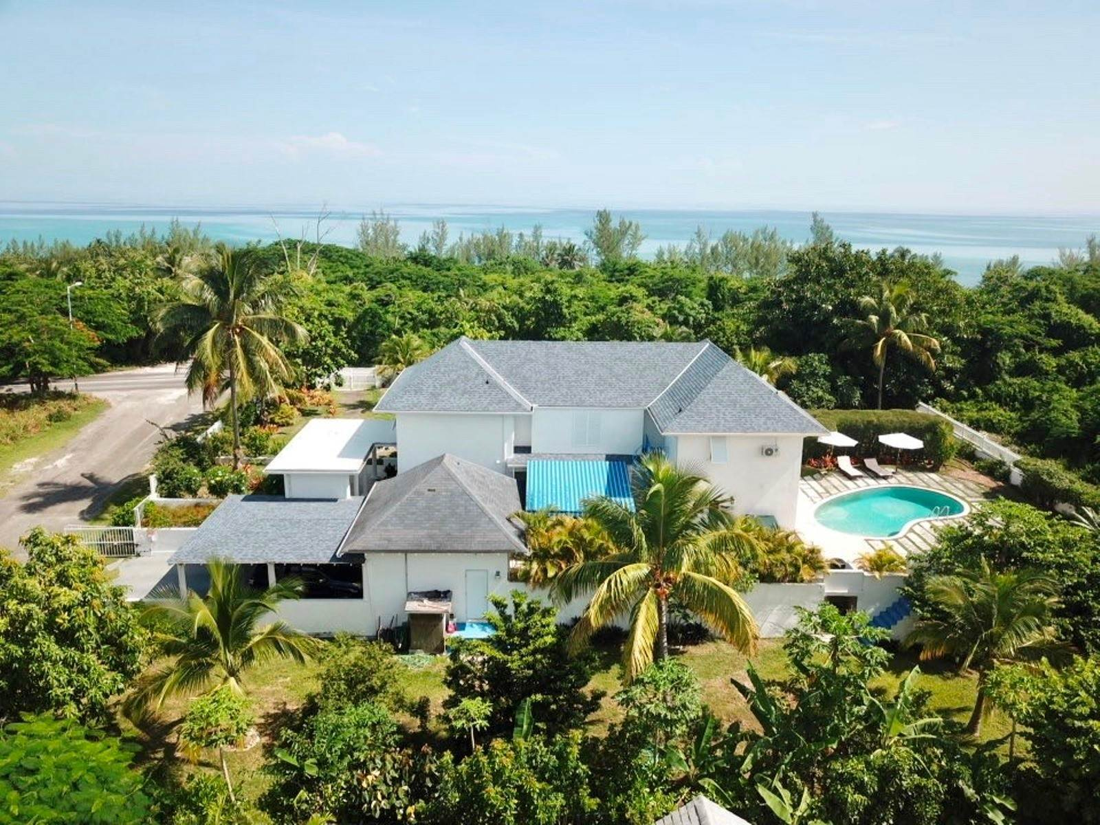 Single Family Homes for Sale at Elegant Western Estate Home with Deeded Beach Access - MLS 41563 Love Beach, Nassau And Paradise Island, Bahamas