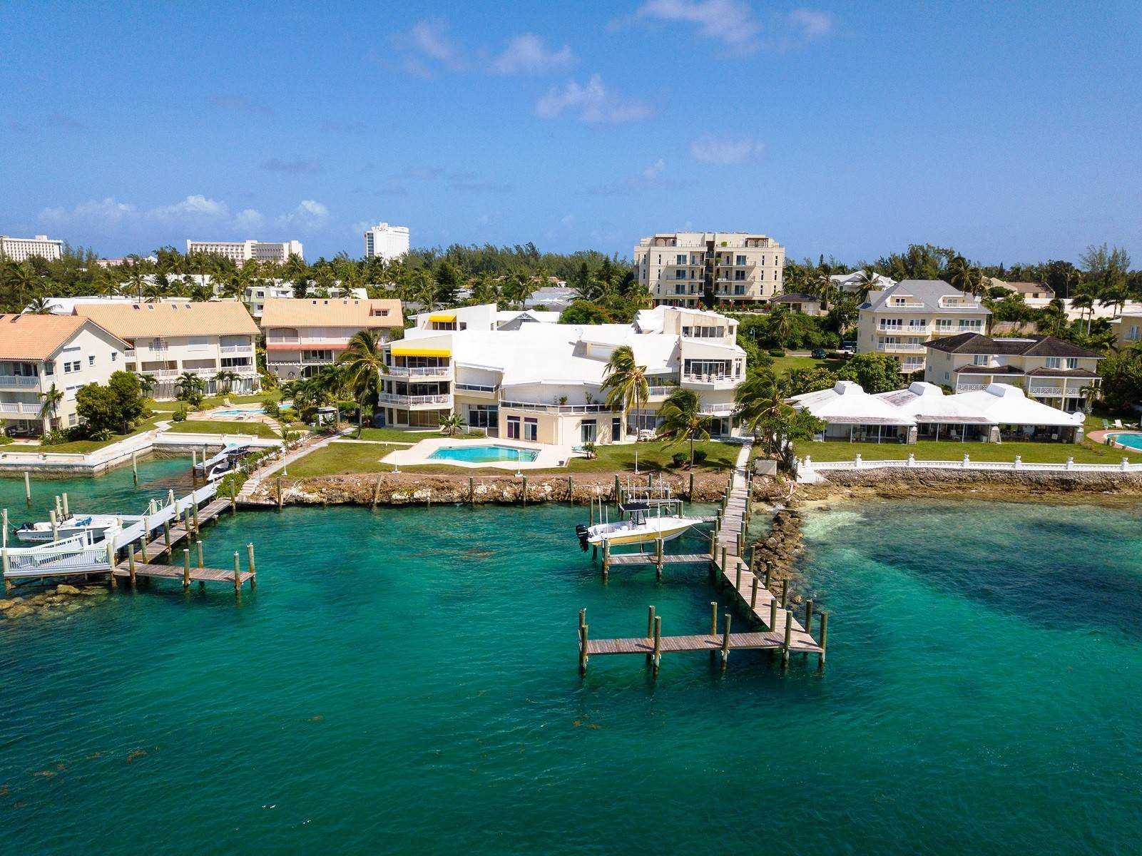 Co-op / Condo for Sale at Fantastic Harbour Condo with Motorized Dock Slip, Pool Ground Level! - MLS 42266 Nassau Harbour, Paradise Island, Nassau And Paradise Island Bahamas