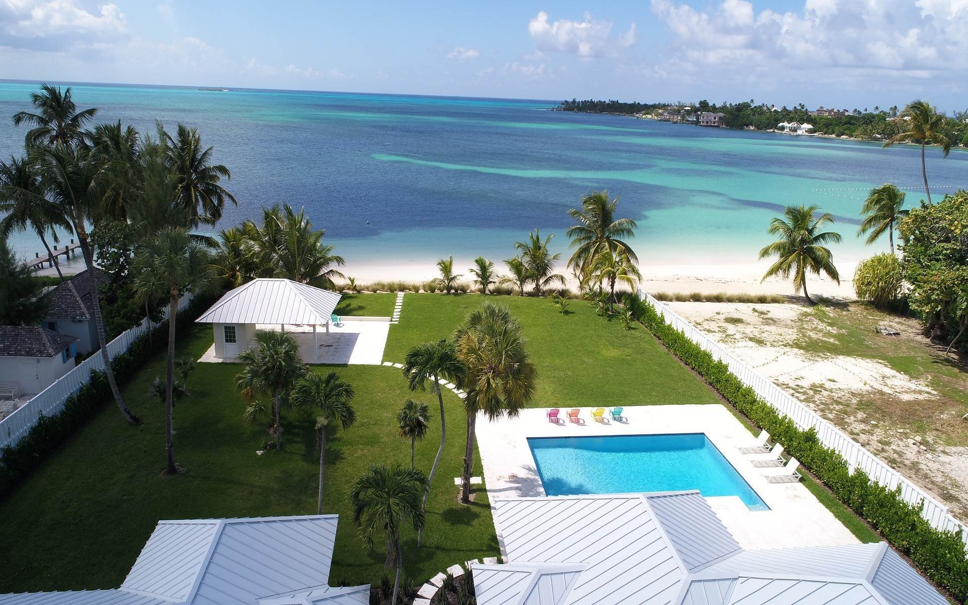 Single Family Homes for Sale at Lyford Cay Beachfront Estate on Clifton Bay Lyford Cay, Nassau And Paradise Island, Bahamas