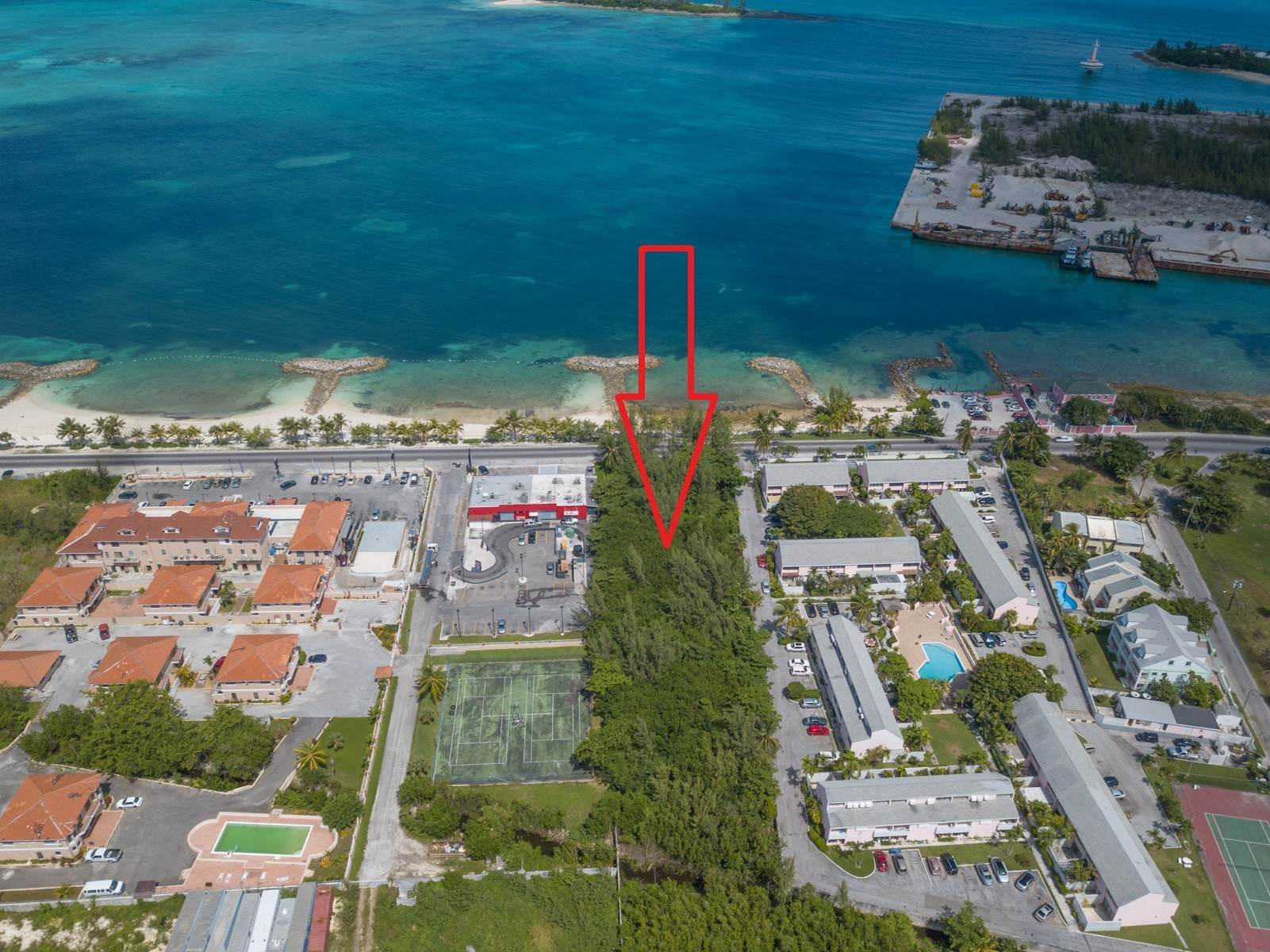 Land for Sale at Waterfront Commercial Acreage On West Bay Street - MLS 41966 West Bay Street, Nassau And Paradise Island, Bahamas