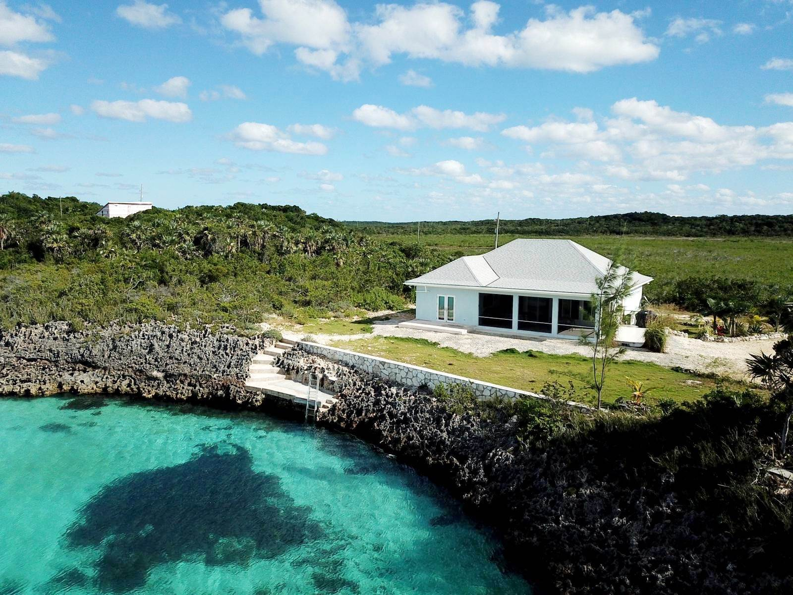 Single Family Homes for Sale at Fantastic Waterfront Home in Ten Bay - MLS 43246 Ten Bay, Eleuthera, Bahamas