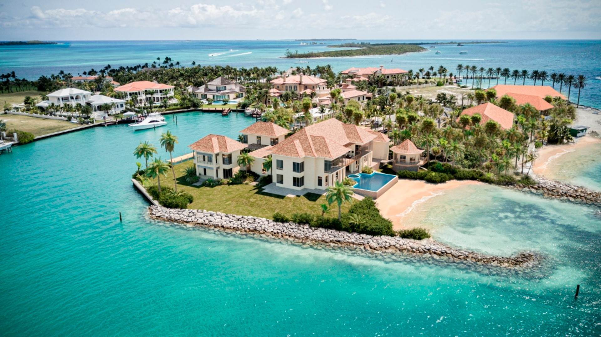 Land for Sale at Peninsula Lot, Ocean Club Estates, Paradise Island - MLS 43903 Ocean Club Estates, Paradise Island, Nassau And Paradise Island Bahamas