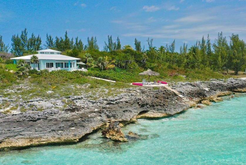 Single Family Homes por un Venta en The Allure of El'Lure, Eleuthera. Wonderful, waterfront Home - MLS 44122 Current, Eleuthera, Bahamas