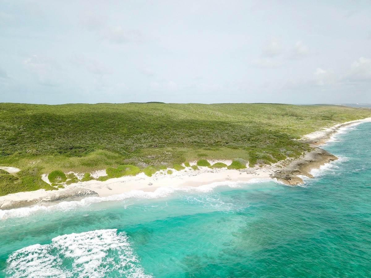 Land for Sale at 32 Beachfront Acres and Ocean Views in Eleuthera - MLS 44184 Gregory Town, Eleuthera, Bahamas