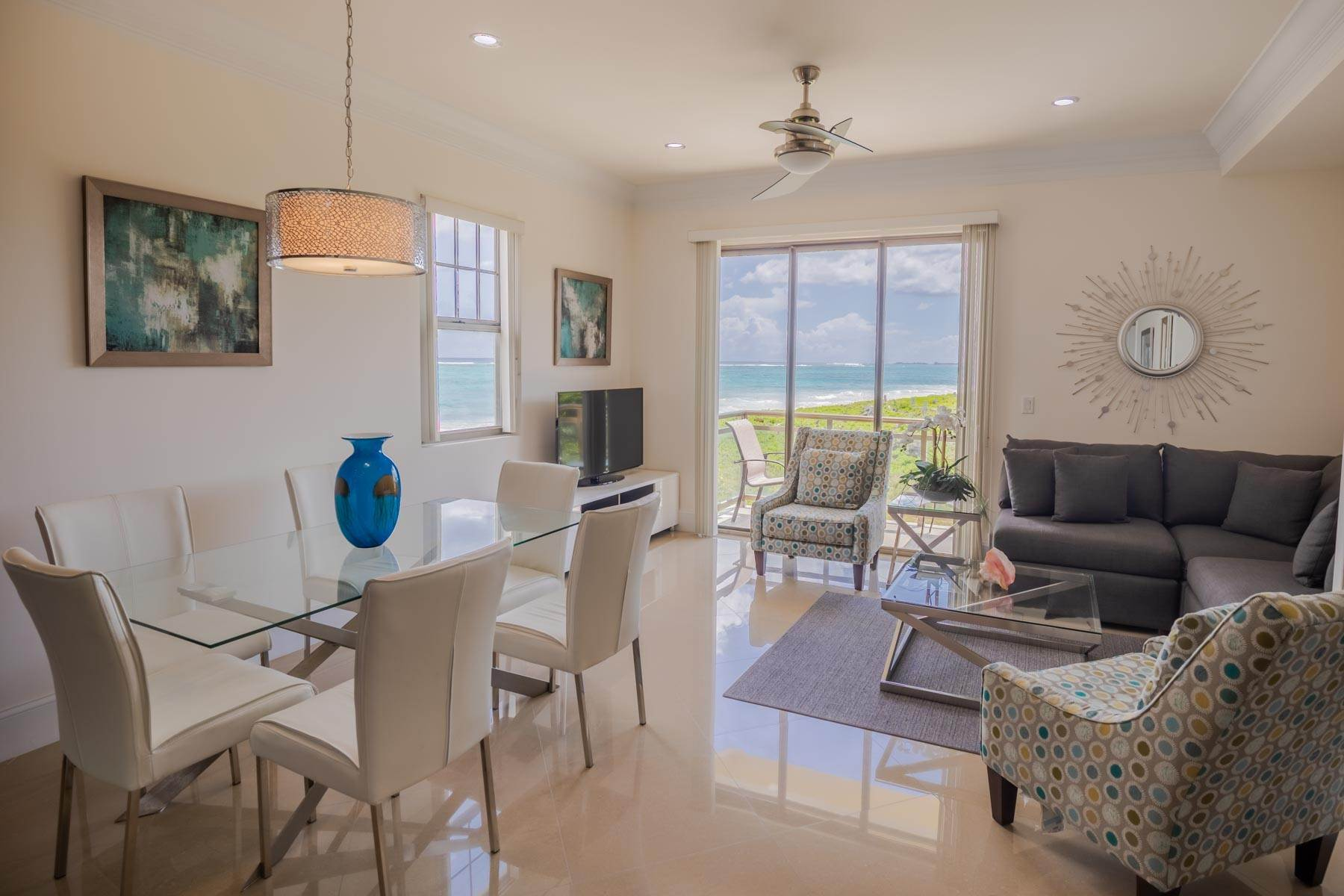 Co-op / Condo for Rent at Immaculate corner beachfront condo in Columbus Cove, Love Beach Love Beach, Nassau And Paradise Island, Bahamas