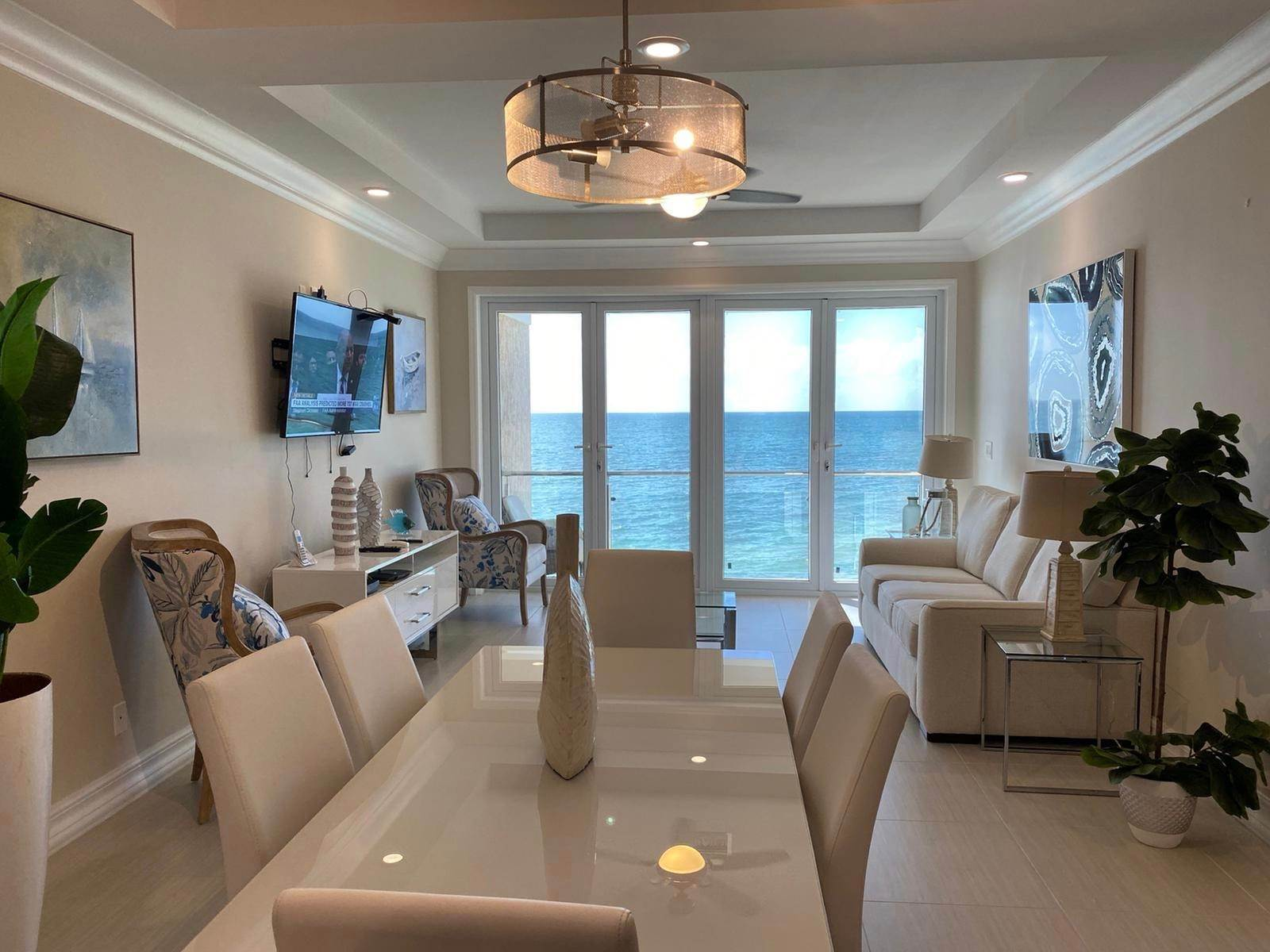 Co-op / Condo for Rent at Beachfront Rental at AQUA Residences - MLS 43699 Coral Harbour, Nassau And Paradise Island, Bahamas