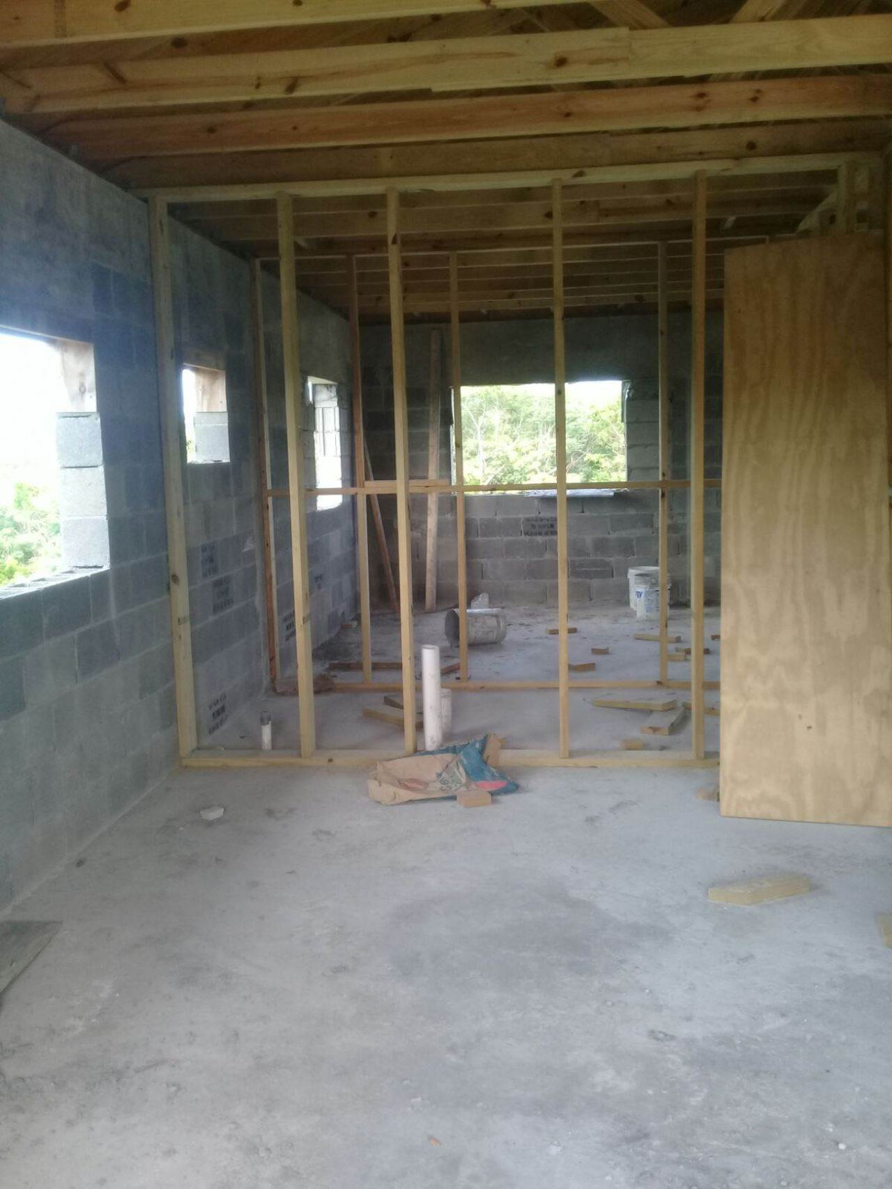14. Single Family Homes for Sale at Unfinished House for Sale Near Jolly Hall Beach - MLS 35899 Bahama Sound, Exuma, Bahamas