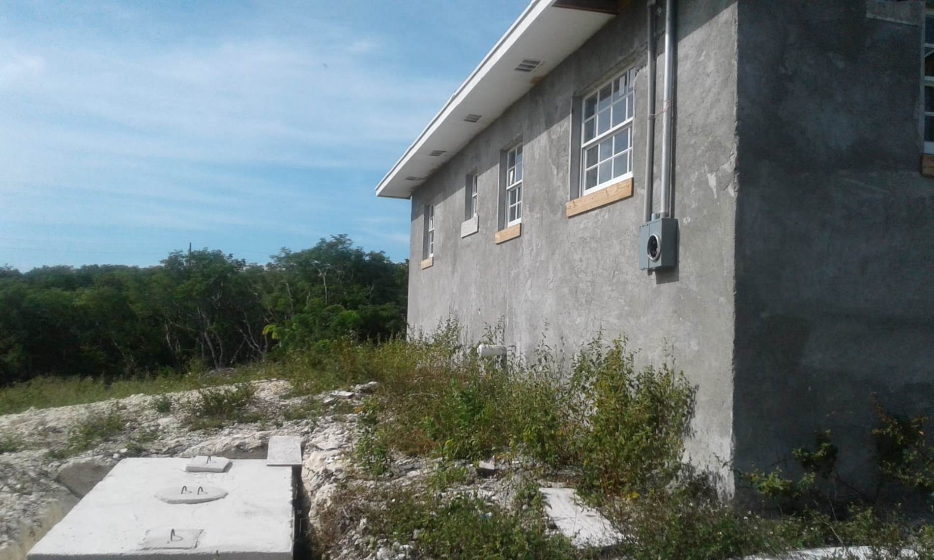 22. Single Family Homes for Sale at Unfinished House for Sale Near Jolly Hall Beach - MLS 35899 Bahama Sound, Exuma, Bahamas