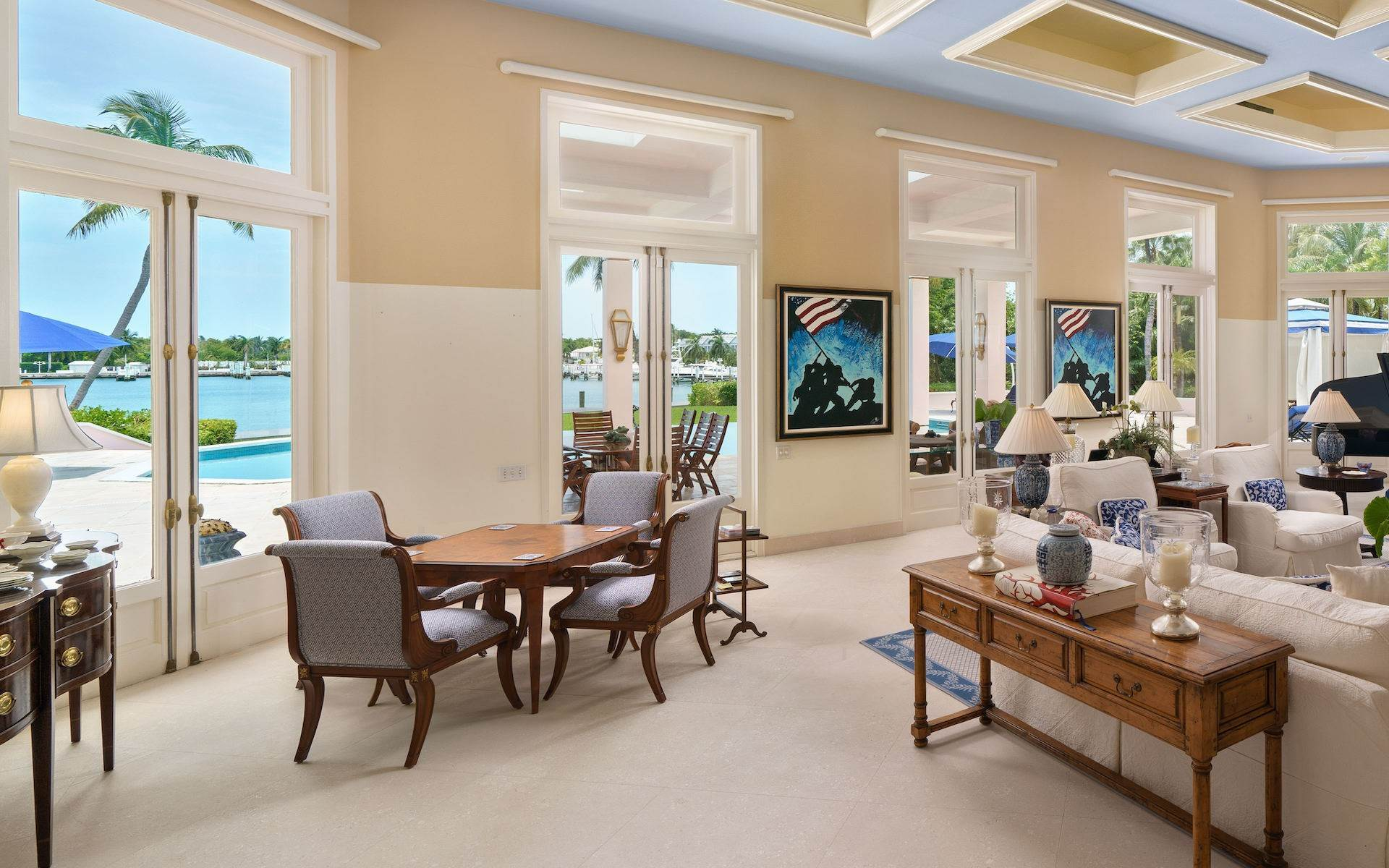 17. Single Family Homes for Sale at Luxurious Lyford Cay Canalfront Estate - MLS 40934 Lyford Cay, Nassau And Paradise Island, Bahamas