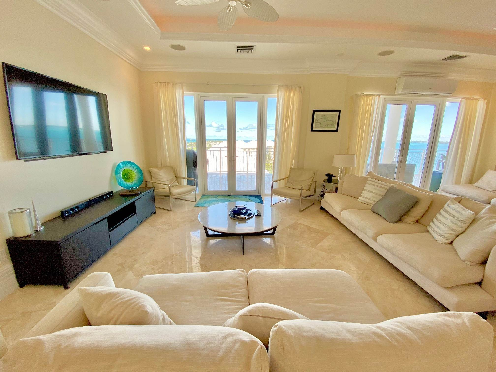2. Co-op / Condominio por un Alquiler en Stunning 7th floor Residence with Exceptional Views - MLS 39247 One Ocean, Paradise Island, Nueva Providencia / Nassau Bahamas