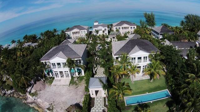 38. Single Family Homes for Rent at Beautiful Beach House Villa set on Colonial Beach, Paradise Island Western End, Paradise Island, Nassau And Paradise Island Bahamas