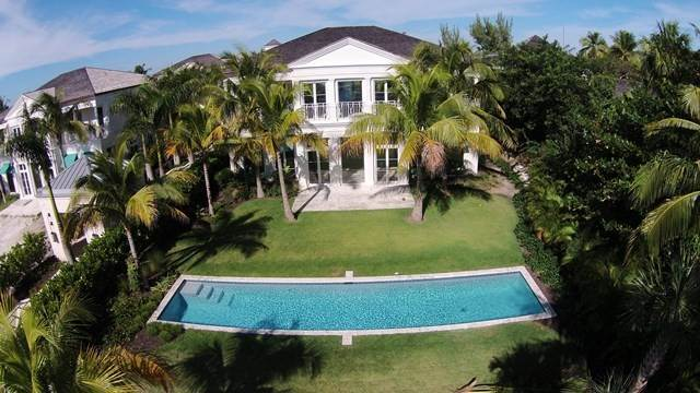 40. Single Family Homes for Rent at Beautiful Beach House Villa set on Colonial Beach, Paradise Island Western End, Paradise Island, Nassau And Paradise Island Bahamas