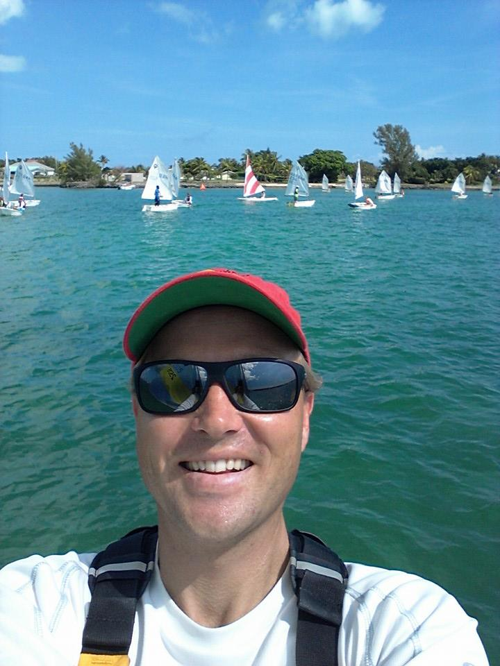 Dwayne at a Regatta in Abaco