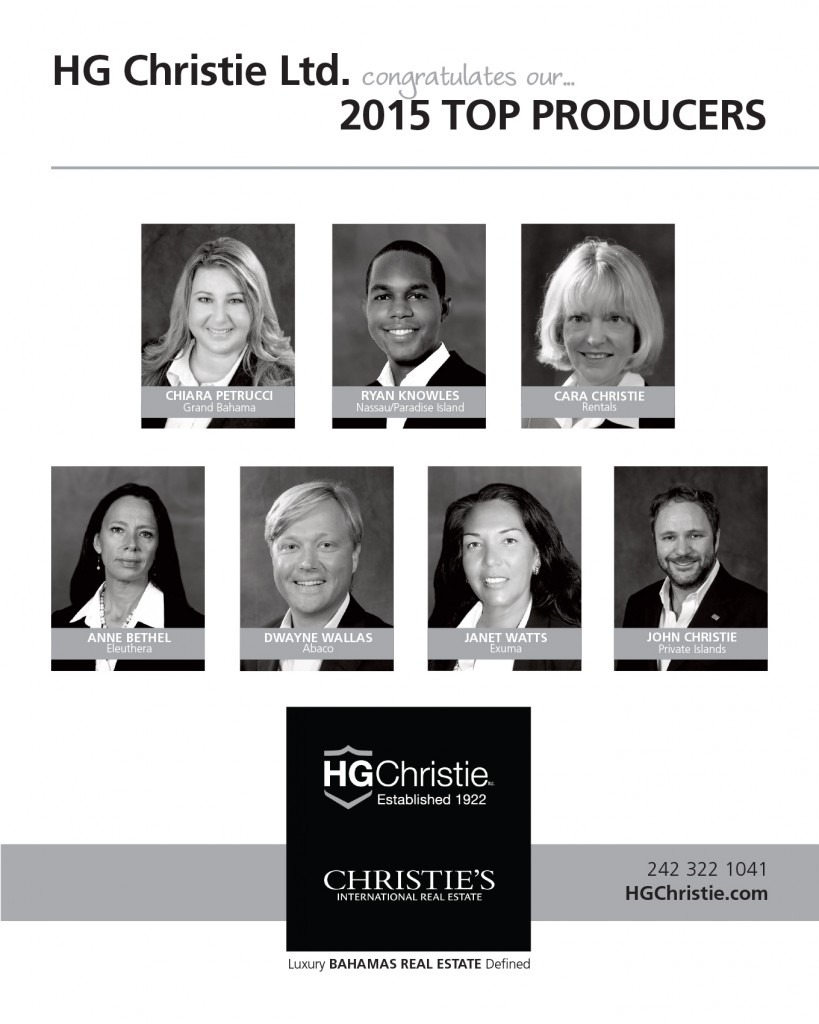 HG Christie's 2015 Top Producers